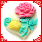Heart soap mold Nicole Valentine's Day Rose Soap Molds Heart silicone mold Silicone Rubber R0369
