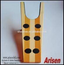 6 dots bamboo boot jack 1
