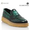 New design genuine leather fashion casual shoe men platform shoes