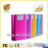 2013 Newest smart CE FCC ROHS 8400mah portable mobile power or power bank