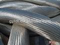 alta pressão aço inoxidável flexível mangueira trançada