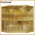 Cultivadas decorado de piedra tradicional sauna de vapor( smt- 041lht)