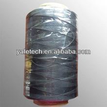 High tenacity filament sewing thread 1500D*3 black from zhejiang