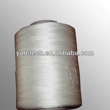 High tenacity filament sewing thread 1500D*3 white from zhejiang