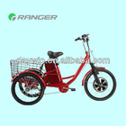350W 36V 10AH tricycle electric motor kit with Pedals or throttle bar