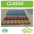 Material de construcción hoja de techo de metal
