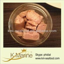Tuna loin steak in jar made in china