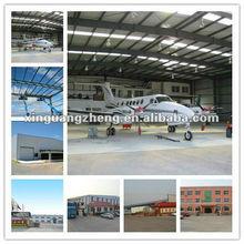High quality prefabricated Metal airplane Hangar