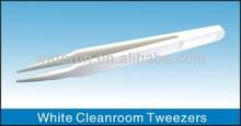 White Plastic Tweezers