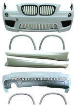 For BMW X1/E84 2009-2013 M-Tech look front bumper+rear bumper + side skirt Auto Bodykit