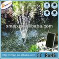 2 dc12v moldura de alumínio solar powered irrigação de água da bomba de lagoa