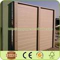 revestimento de parede de madeira composto plástico revestimento da parede exterior