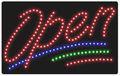 Date style publicité led signe / logo pour vitrine