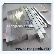 Diameter more than 5mm and length 2-3m titanium square bar