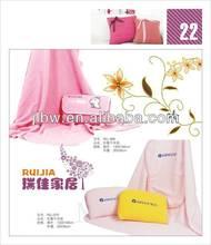 Square Back Cushion Pillow Blanket Car Cushion Nap Pillow Summer Gift