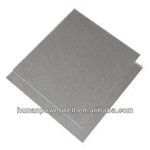 Black phlogopite mica sheet