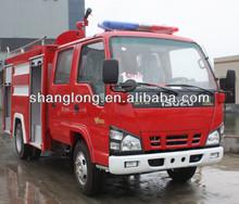 3000L 4x2 Small Water-Foam Fire Fighting Truck For Sale