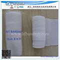 Fonte médica curativo estéril/bandagem conforme/branqueados tabby viskose atadura pbt