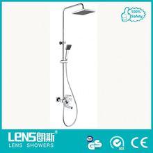 Solid brass multifunction shower head for bathroom