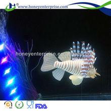 aquarium world. decoration world accessories ornamental fake fish