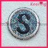 Custom Letter alphabet embroidery patch logo WPH-623