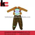 冬子供服2014年虎プリント赤ちゃん男の子のためのロンパー