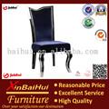 alibaba móveis económico alumínio escada de volta da sala de jantar e cadeiras