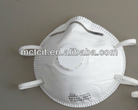 Chemical industrial work mask, hygiene n95 face mask with/without valve