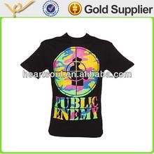 100% cotton best cheap black men t shirts manufacturers