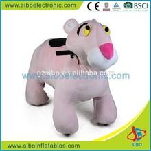 GM59 pink plush rocking horse,the latest pink plush rocking horse/rocker for baby