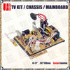 "CRT TV mainboard for 21"" size of 247*247mm full function by optional"