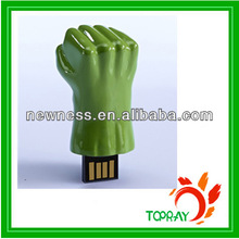 2014 New The Avengers big fist USB drive with LOGO 8G
