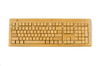 2.4G wireless bamboo keyboard(3 key pads) - John 2