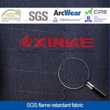inherent flame retardant anti static fabric for oil&gas workwear