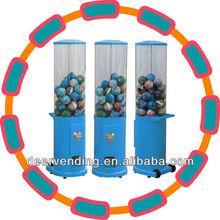 Single head bouncy ball/gumball vending machine