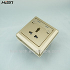 2013 New 3 pin femal socket 2 usb wall socket with 2 usb ports 5V2.1A suit for cell phone tablets camera charge directly