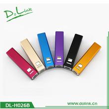 2600mAh Slim Mobile Universal External Portable Power Banks