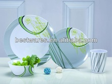 16pcs melamine dinnerware set