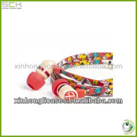 cheap 3.5mm creative headphone, customized earphones made in china