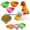 high quality FDA standard silicon rubber dog bowl