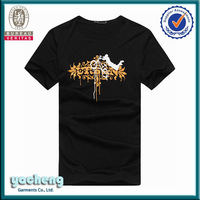 t-shirt price in singapore 100% Cotton Mens Printed hooded t shirt t-shirt casual style For Men t shirt in montreal