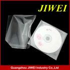 cd/dvd transparent plastic bopp bag with self seal tape