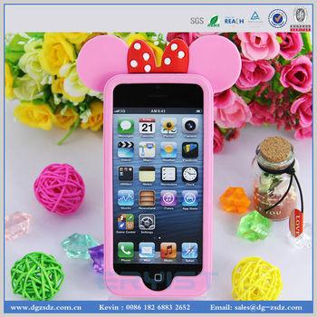 2013 new design wholesale 3D silicone phone case