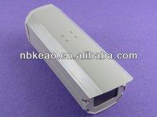 Outdoor weatherproof plastic CCTV camera enclosure, PDC602