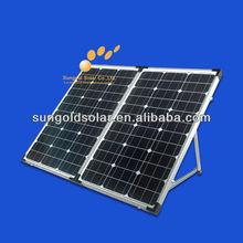 solar kits 12v 160w folding for camping