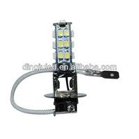 3528 SMD 12V 24V H3 LED bulb socket