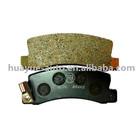 brake pad for toyota ES300 RX300 camry vista corolla harrier avensis altis04466-20100 04466-32020 04466-12010