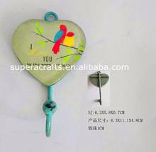 antique Iron wall key hook, hanging wall hooks