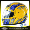 Yellow Cheap full face motorcycle helmet for sale A63