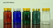 PET Plastic clear/colour, Pill/Tablet/Capsule Bottles. 100cc to 250cc sizes
